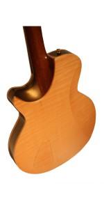 Custom African Mahogany Electric Guitar